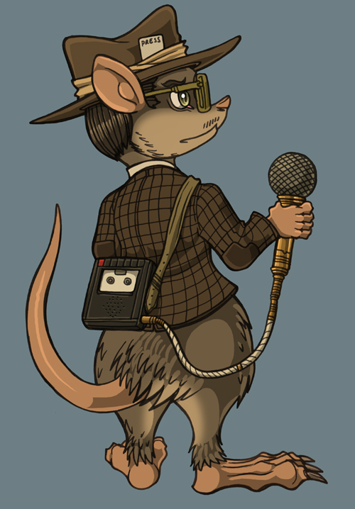 MouseJourno by spacegoblin
