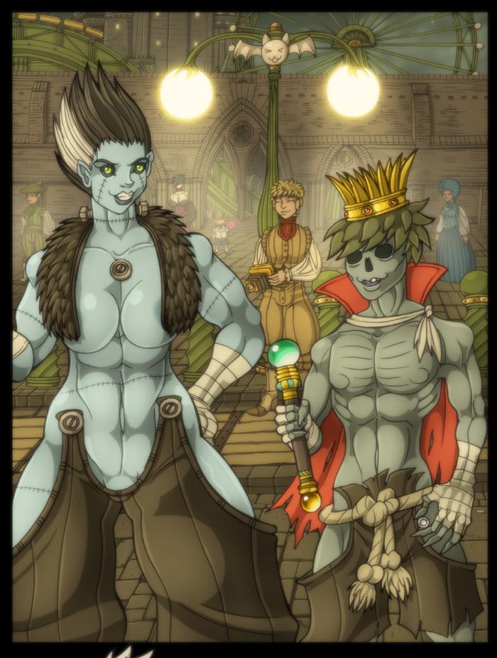 Monster Mash by spacegoblin