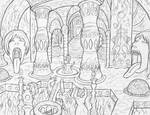 Felarya - Outer - Bowel Temple/ The Gargoyle Paths