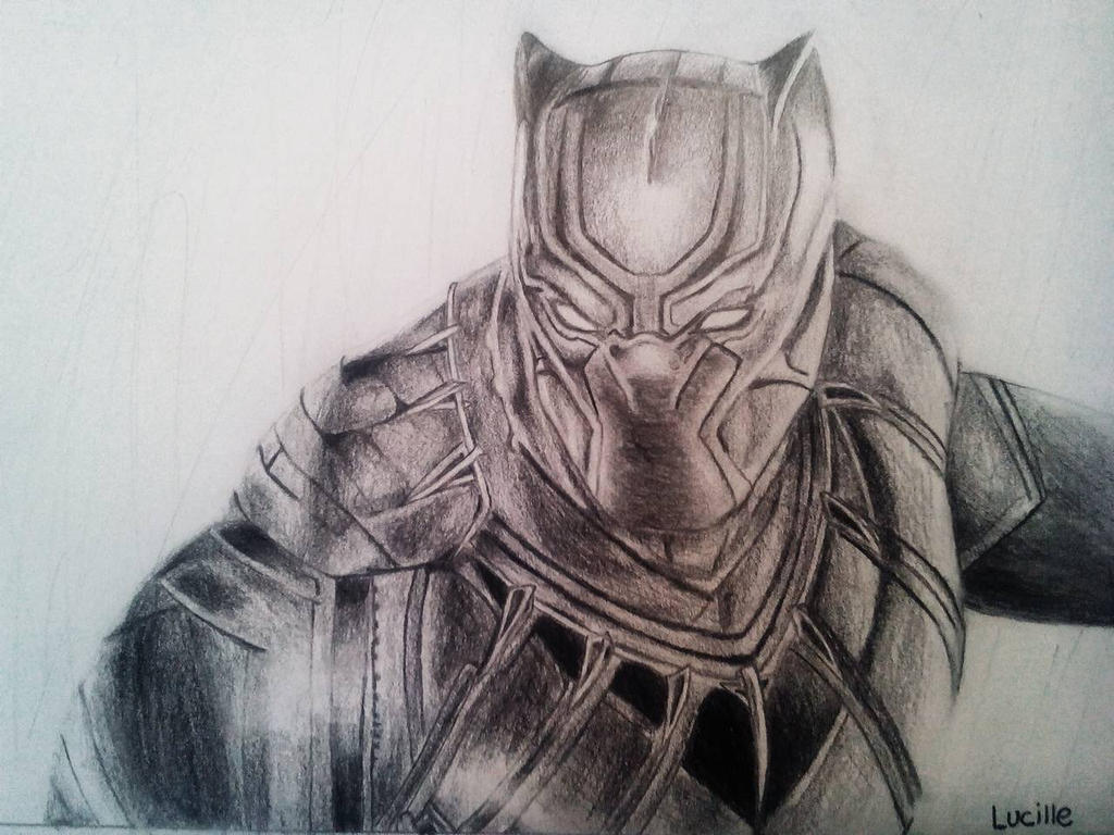 Marvel Black Panther Drawing By TheAmazingAvenger On DeviantArt
