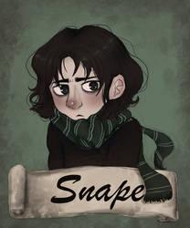 Young Severus Snape by Inu-Neesan