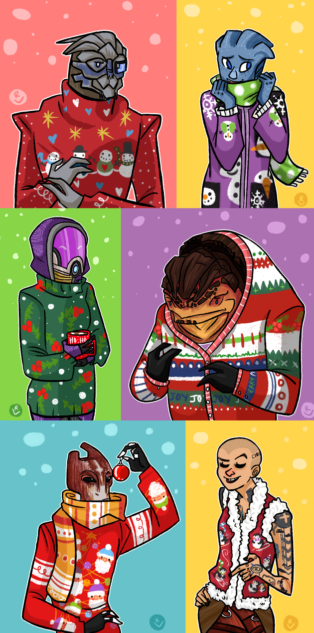 ME: sweater bonanza by robotverve