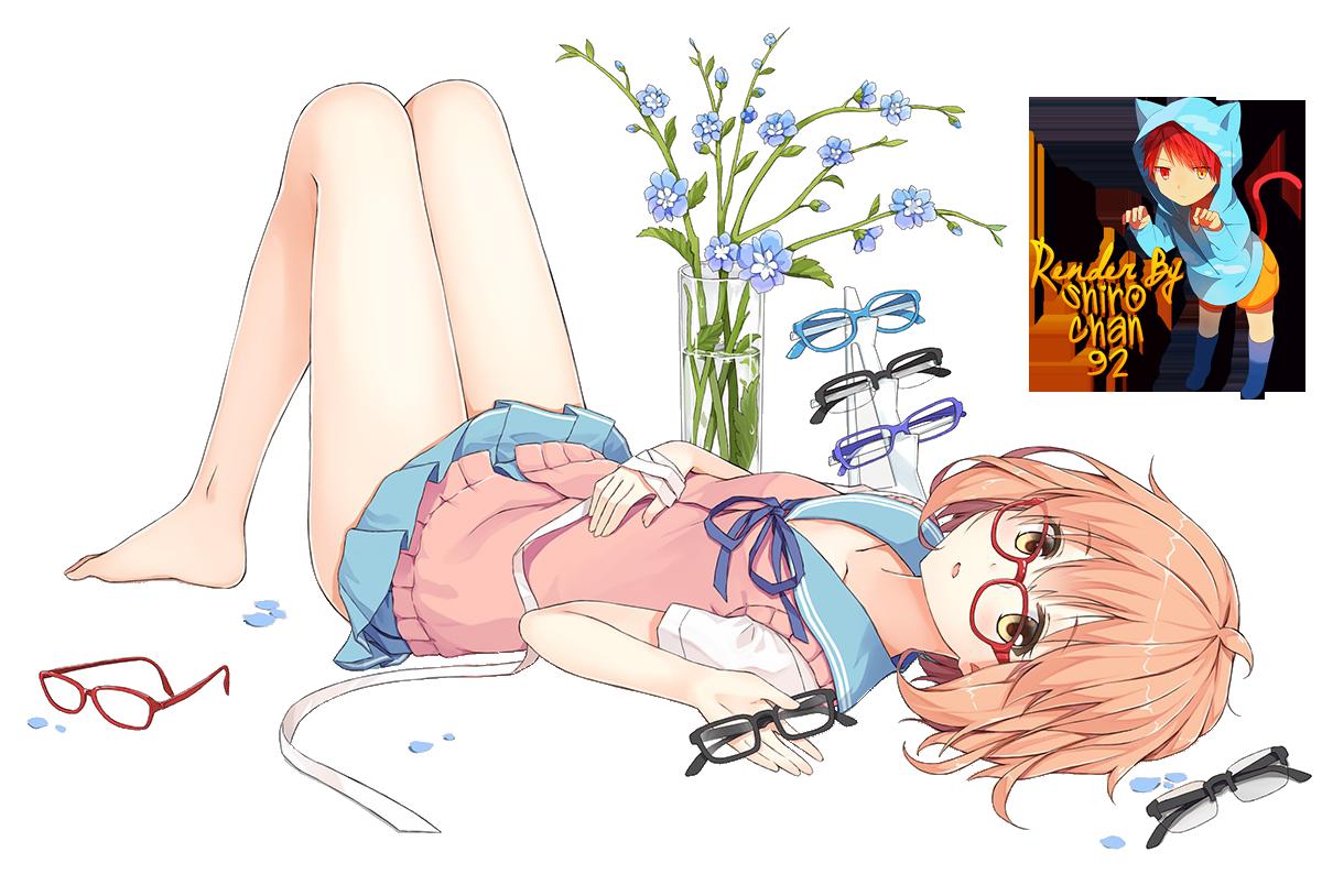 Renders anime Render_kuriyama_mirai_kyoukai_no_kanata_by_shirochan92-d7zsthk