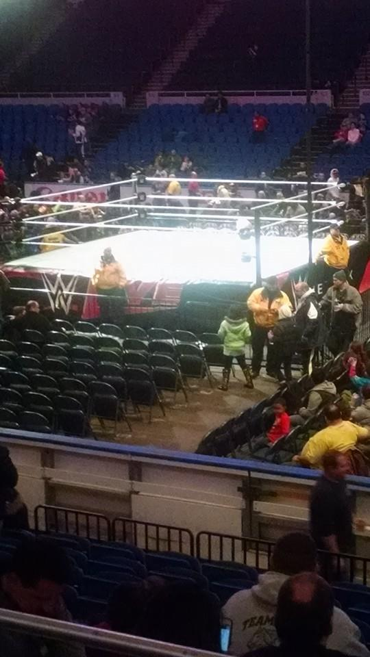 WWE Live House Show Ring by 1Puppeteer1
