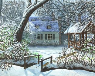 Williamsburg Winter by ContractArtist