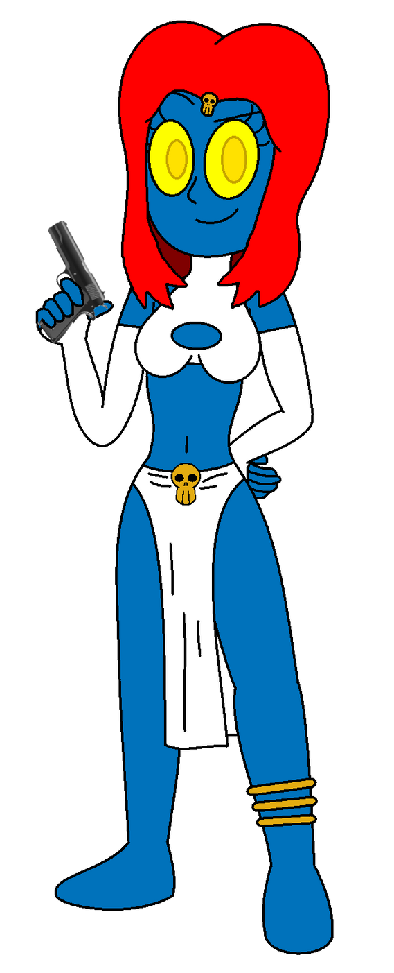 The Devious Mystique in Toonz Form by TheMasterCreative