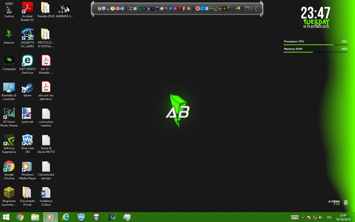My New Desktop by TheMasterCreative