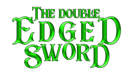 The Double Edged Sword New Logo by TheMasterCreative