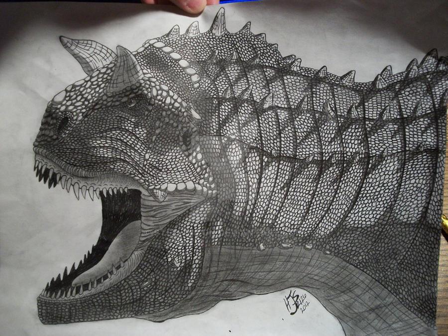 Carnotaurus -shaded- by Steeltalon