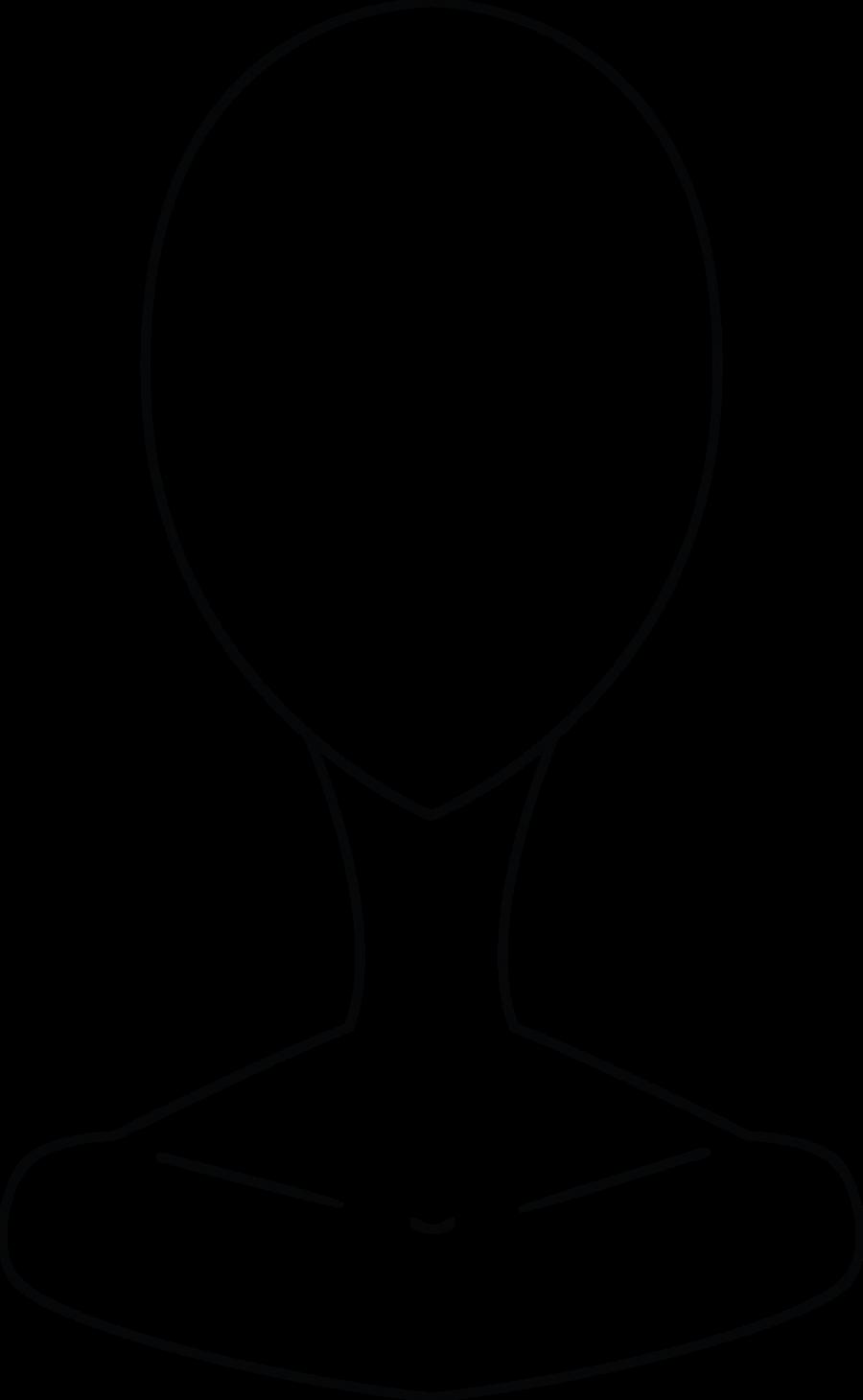 Как нарисовать манекен с головой