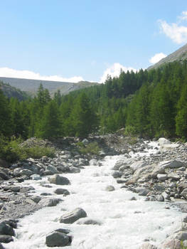 river upstream