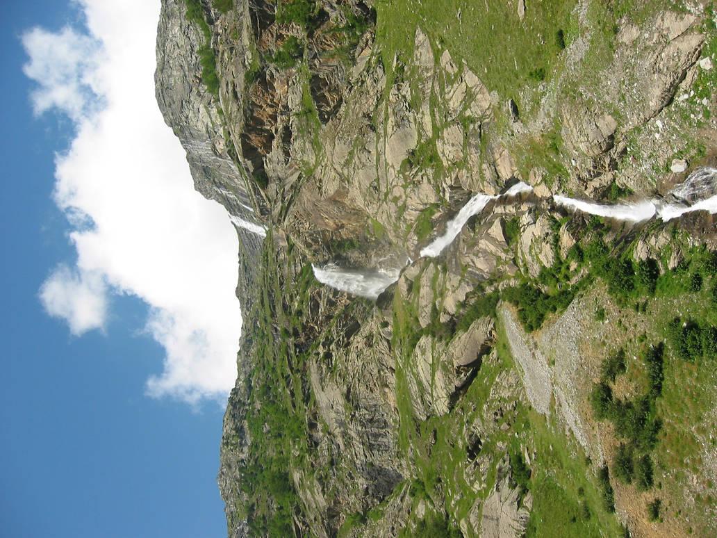 Waterfall by SilentStriker24