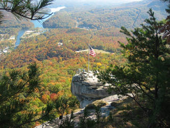 Chimney Rock by SilentStriker24