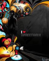 Basketball by MYA-B-DJ