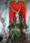 #197 Lady Loki by Nhaundar