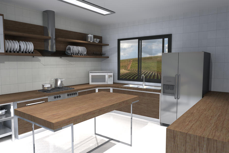commercial catering kitchen design. Commercial Kitchen  Contemporary By Miss M3 On DeviantArt
