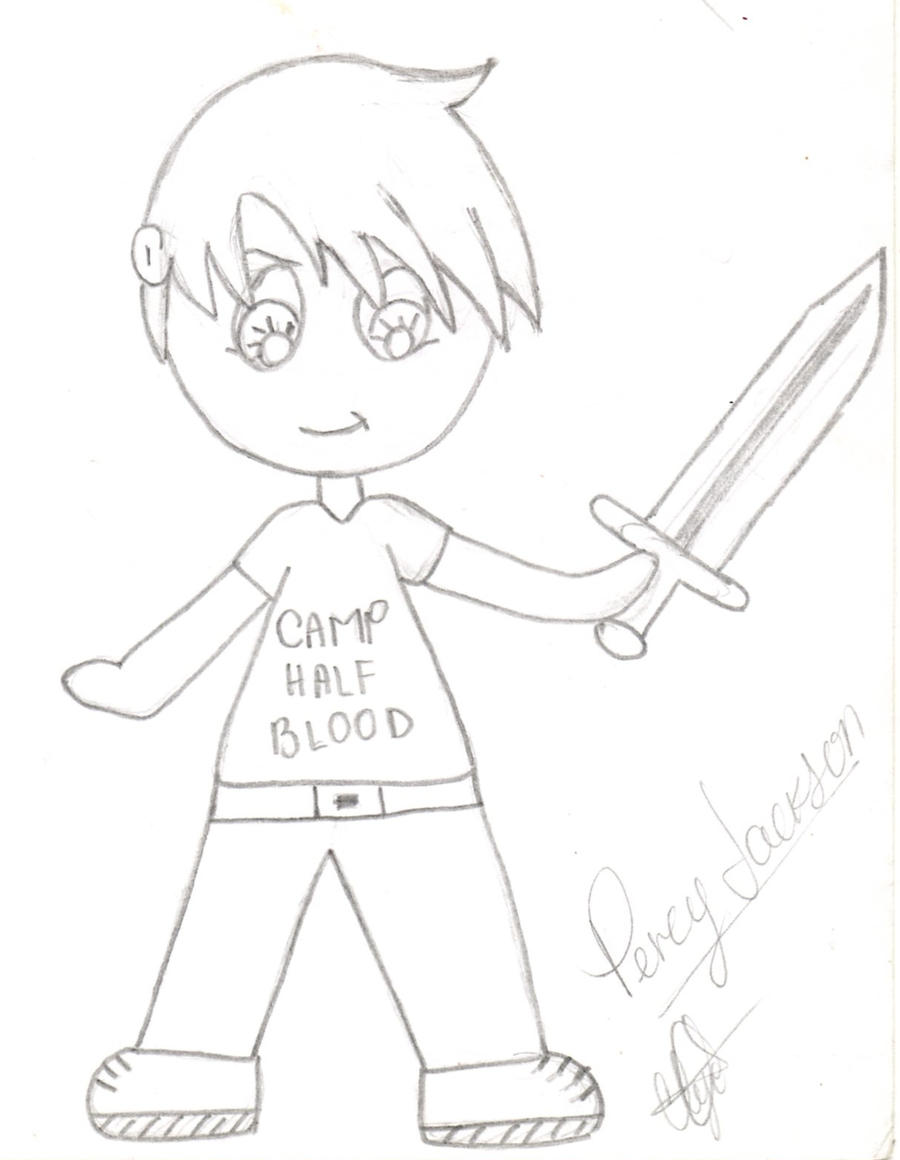 Percy Jackson Hermes Drawing how to draw : percy ja...