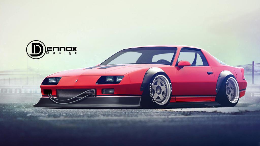 2018 Camaro Iroc Z >> Chevrolet Camaro Iroc-Z by DennoxDesign on DeviantArt