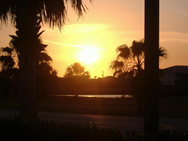 Sunset in Florida by Doodeler