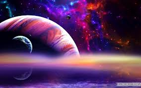 Planets and Galaxy by Chaos-Controle101MSP
