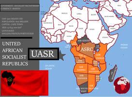 UASR-UNITED SOCIALIST AFRICA by AntonioFL