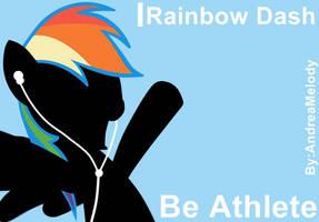Ipod My Little Pony Version (Rainbow Dash) by AndreaSemiramis