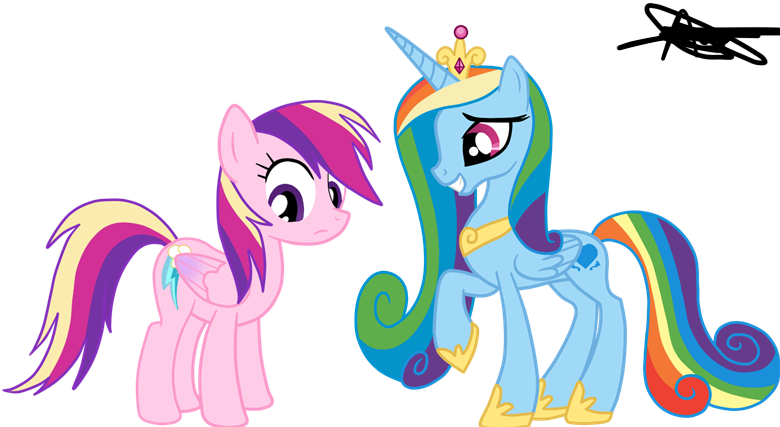 Pide una foto Rainbow_dash_and_cadence_to_rainbowdashbrittany1_by_andreamelody-d51oac2