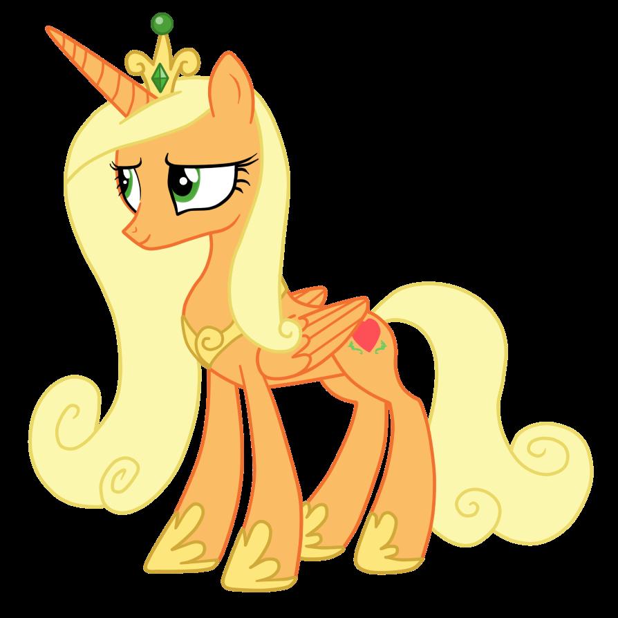 Princess Cadence Version Applejack by AndreaSemiramis