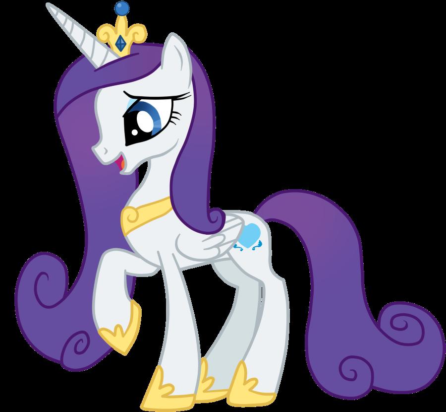 Princess Cadence Version Rarity To:Chipettes33 by AndreaSemiramis