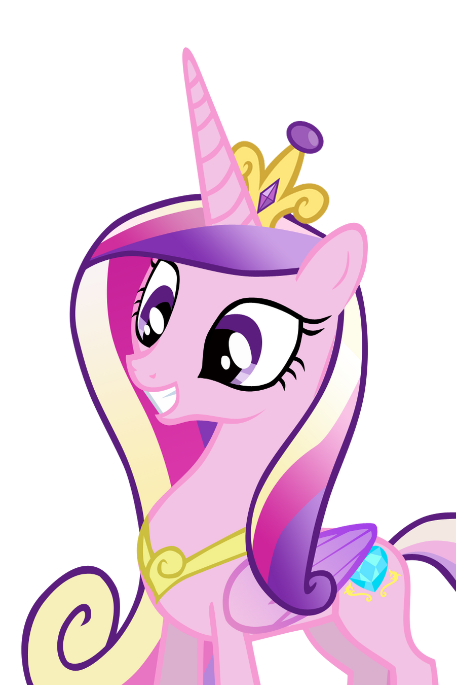 Princess Cadence by AndreaSemiramis