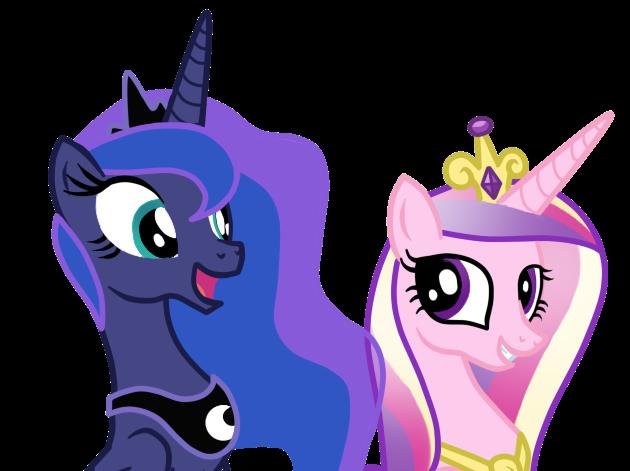 Princess Luna And Princess Cadence by AndreaSemiramis on ...