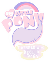 (P.Commission)MLP:FIM Logo Twinkle Wish Version by AndreaSemiramis