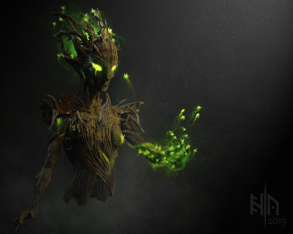 Forest spirit by ErikAppelqvist