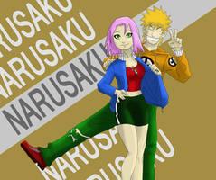 Colored work, NaruSaku