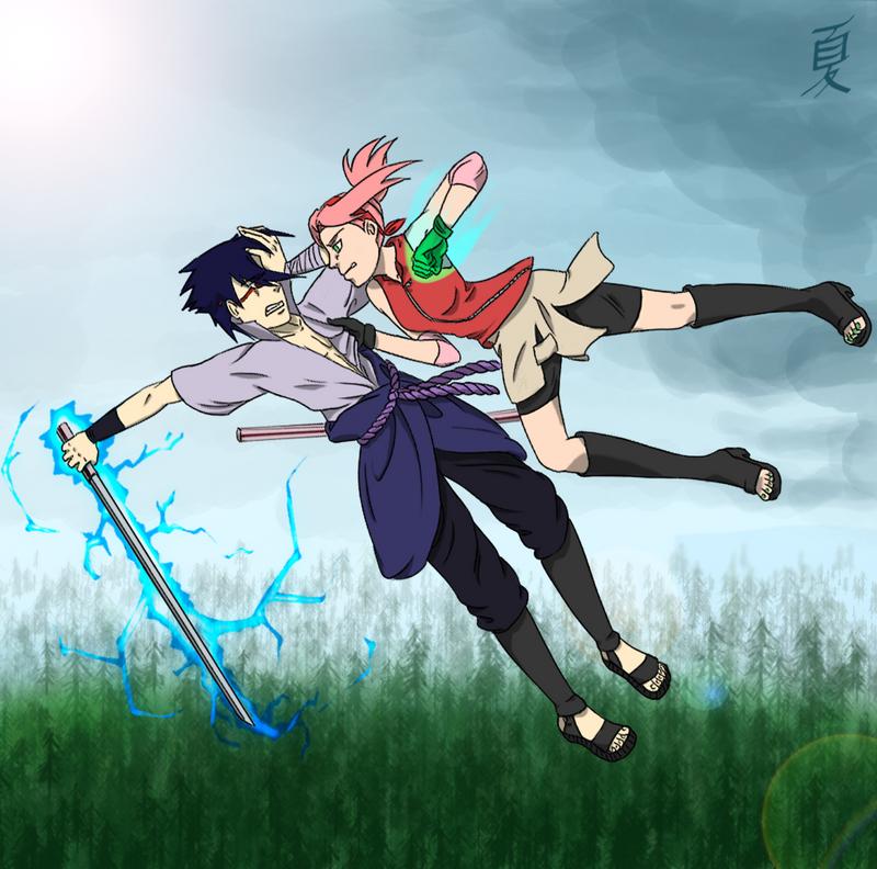 Naruto sasuke vs sakura by cephei n ciel on deviantart naruto sasuke vs sakura by cephei n ciel altavistaventures Images