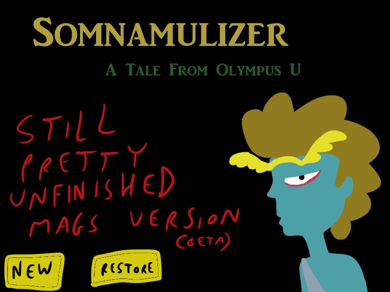 Somnamulizer [BETA] (WINDOWS PC GAME) by EggHeadCheesyBird