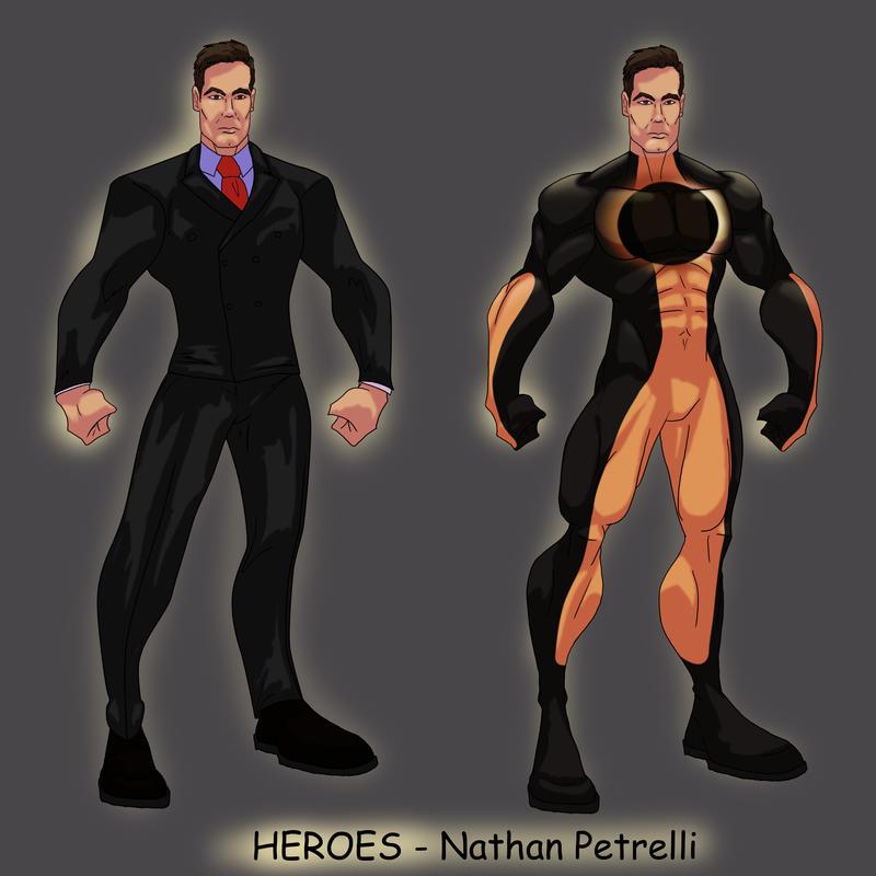 HEROES - Nathan Petrelli