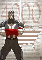 Captain America - 4000 by Juggertha