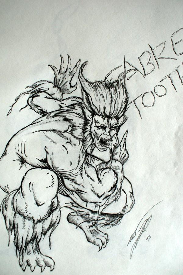 1993 - Sabretooth by Juggertha