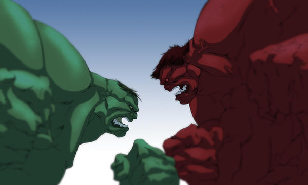 Color - The Hulks by Juggertha