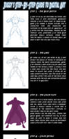 8 step guide to character art