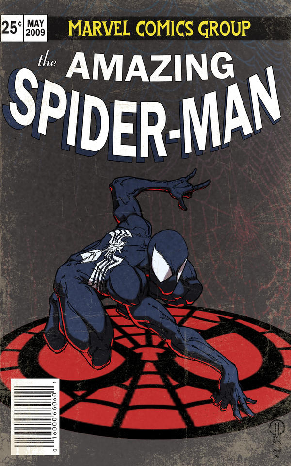 Color - Spiderman cover by Juggertha