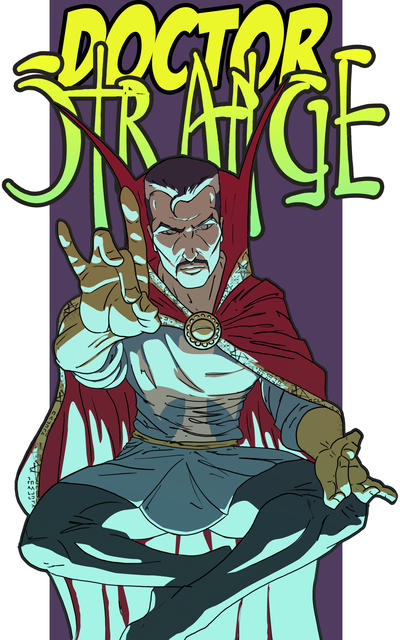 Dr Strange by Juggertha