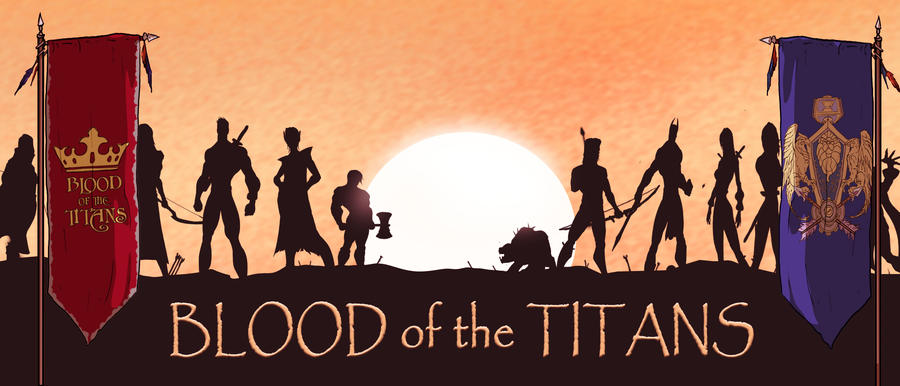 Blood of Titans Banner by Juggertha