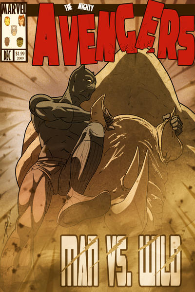 Black Panther - manvswild by Juggertha