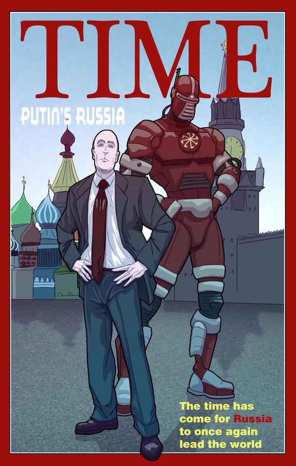 Putin's Russia by Juggertha