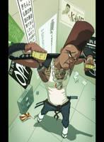 Hip Hop Samurai by Juggertha