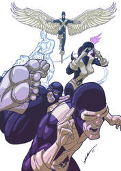 The Original X-Men by Juggertha