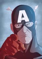 Captain America 2011 by Juggertha