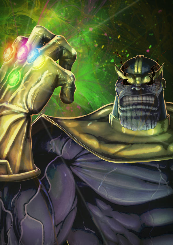 Thanos by Juggertha